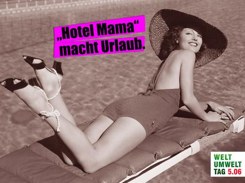 Umweltzeichen Hotels zum Muttertag